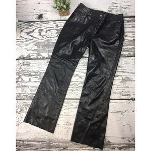 Express Leather Pants - Size 9/10